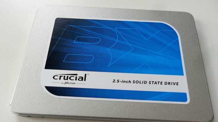 Neue Einsteiger-SSD von Crucial