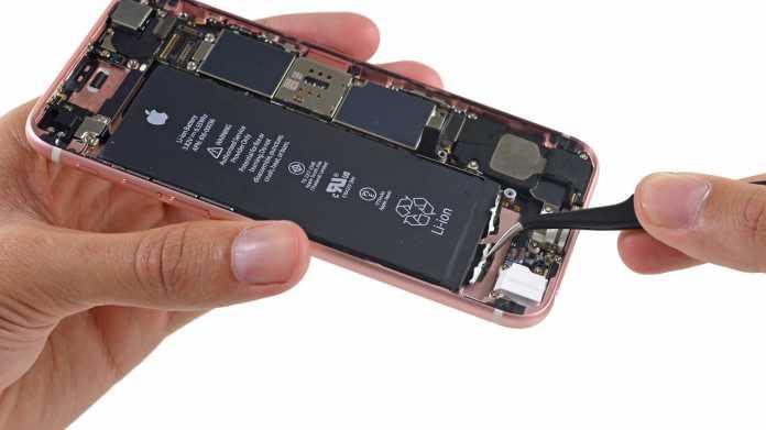 iPhone 6s Akku