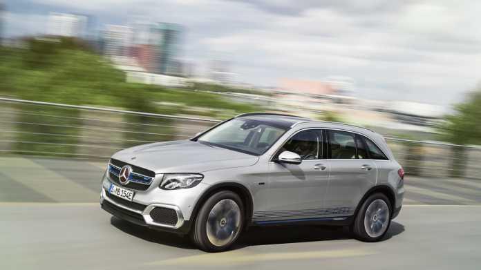 Mercedes-Benz GLC F‑Cell: Hybrid verbindet Elektroantrieb und Brennstoffzelle