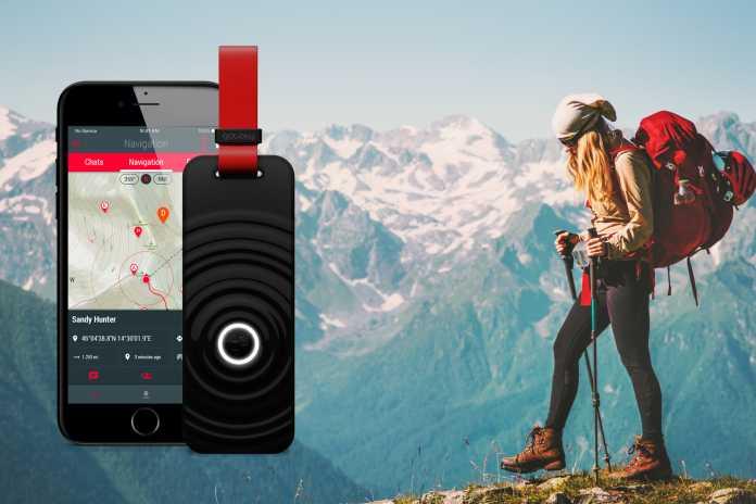 In der App: Gotoky-Nutzer können sich verbinden und den Standort des anderen anzeigen lassen.