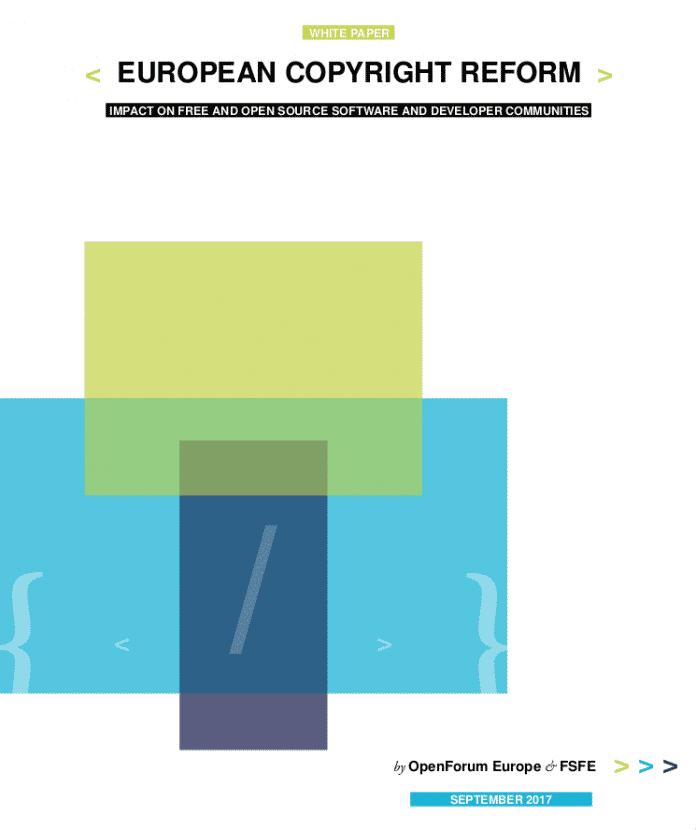 Whitepaper zur den befürchteten Auswirkungen der Copyright-Reform.