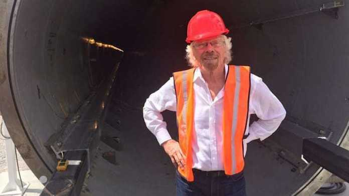 Virgin investiert in Hyperloop One und bekommt Platz im Namen