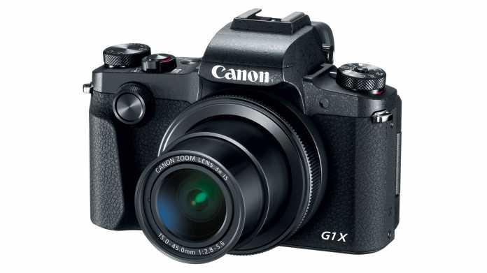 Canon zeigt Edelkompakte G1X Mark III mit APS-C-Sensor