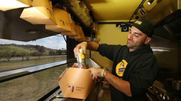 Project Wing: Burritos und Arzneien für Australier