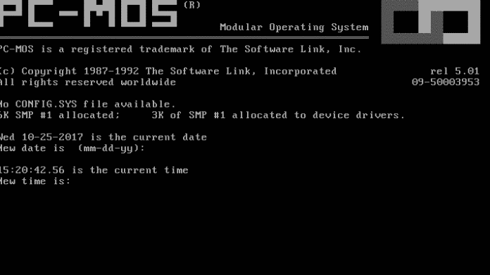 Multitasking-DOS PC-MOS/386 als Open-Source veröffentlicht