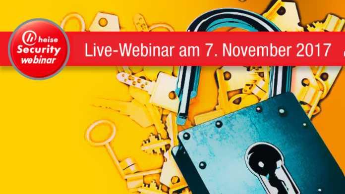 Nächsten Dienstag: heisec-Webinar TLS für Admins
