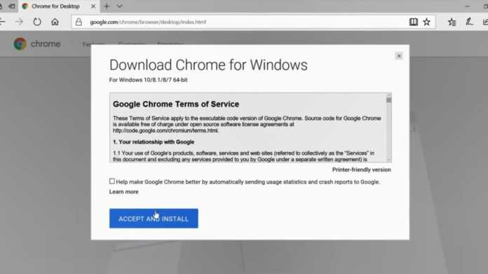 Microsoft-Präsentation: Edge stürzt ab? Dann eben Chrome installieren!