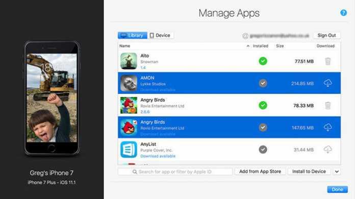Mac-App bringt iOS-Downloads auf den Desktop zurück