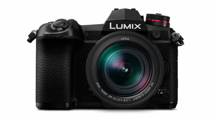 Panasonic's LUMIX G9: Spiegellos auf der Überholspur