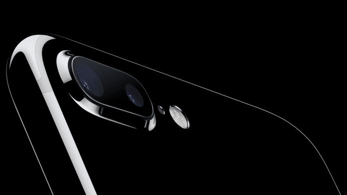 iPhone 7 in Jet Black