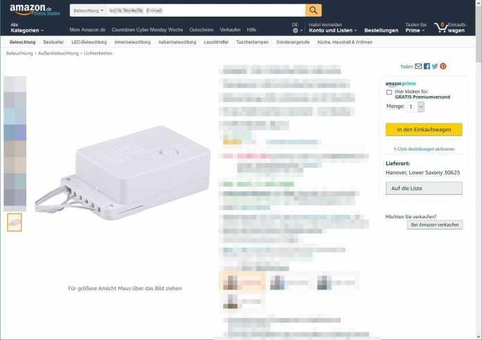 Lichterkette Amazon