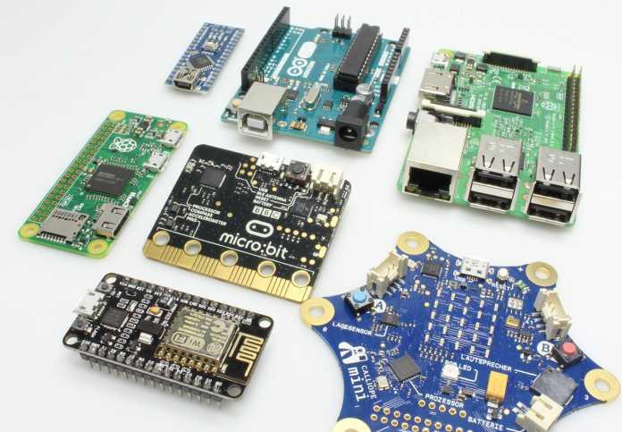 Übersicht Mikrocontrollerboards