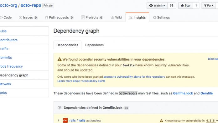 GitHub: Neues Sicherheits-Feature warnt vor bekannten Schwachstellen