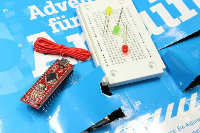 Conrad Adventskalender Test 2017 Arduino