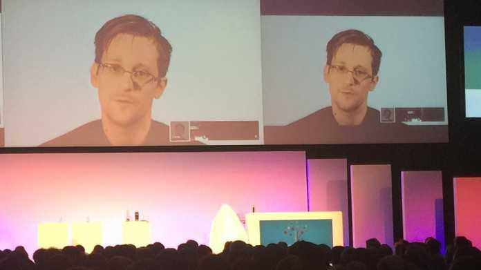 Snowden warnt vor Big Data, Biometrie und dem iPhone X