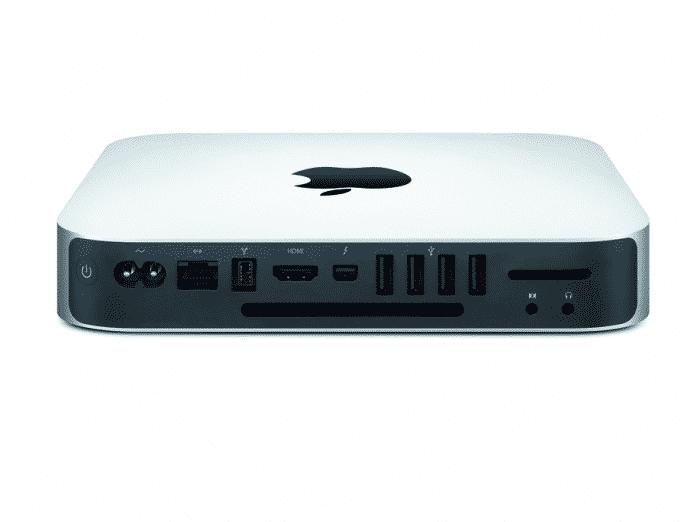 Mac mini Anschlüsse