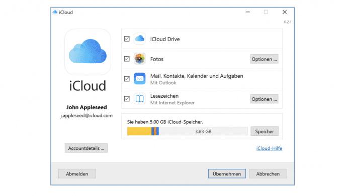 iCloud für Windows