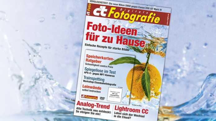c't Fotografie: Foto-Ideen für zu Hause