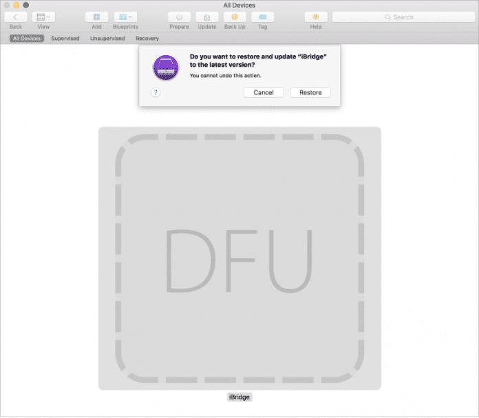 DFU Modus iMac Pro