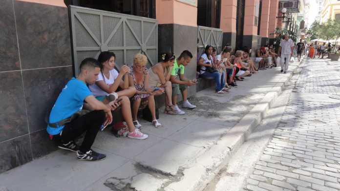Ab 2018 mobiles Internet auf Kuba