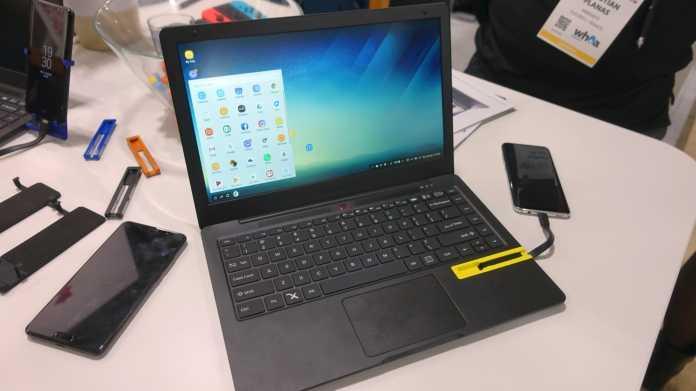 Mirabook macht das Smartphone zum Laptop