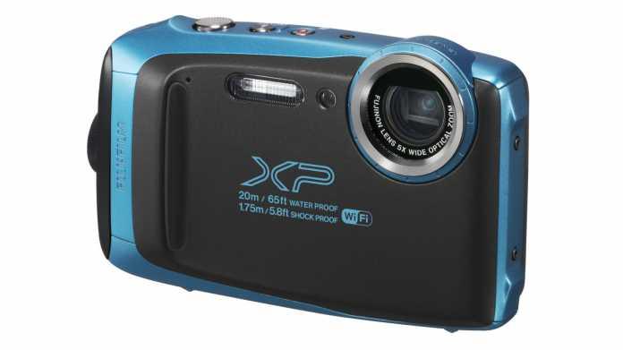 Fujifilm zeigt tauchfeste Kompakkamera FinePix XP130