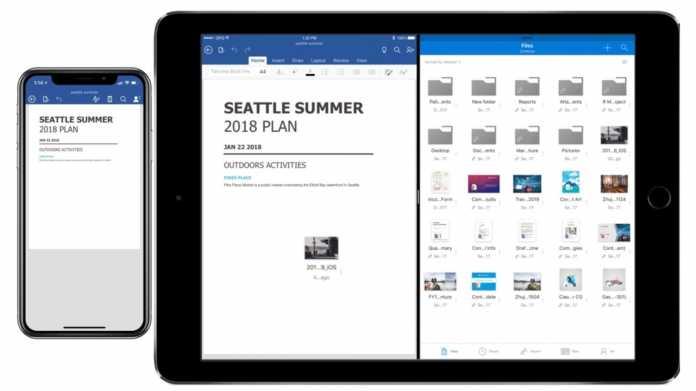 Office für iOS: Team-Funktionen und