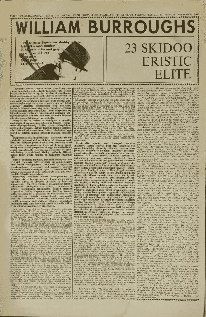 International Times #18 (London: August 31st, 1967)