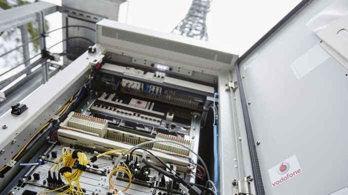 Vodafones Mobilfunk-Geschäfte ziehen in Deutschland wieder an