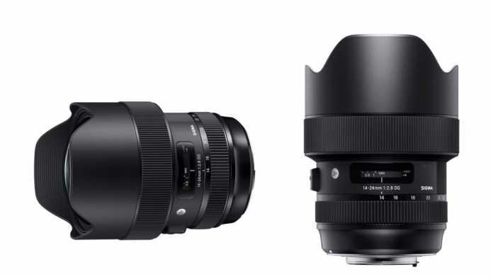 Sigma stellt neues Vollformat-Weitwinkel 14-24mm F2.8 DG HSM vor