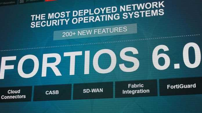 Accelerate 18: Fortinet präsentiert FortiOS 6.0