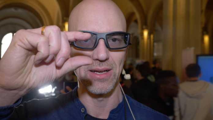 Argumented Reality: Datenbrille Vuzix Blade mit Alexa-Anbindung soll Mitte des Jahres erscheinen