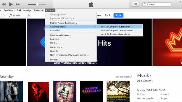 Windows XP und Vista verlieren iTunes-Store-Zugang