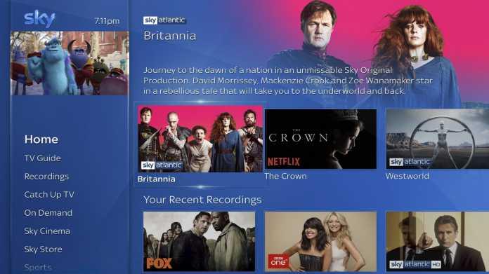 Sky Partnerschaft mit Netflix