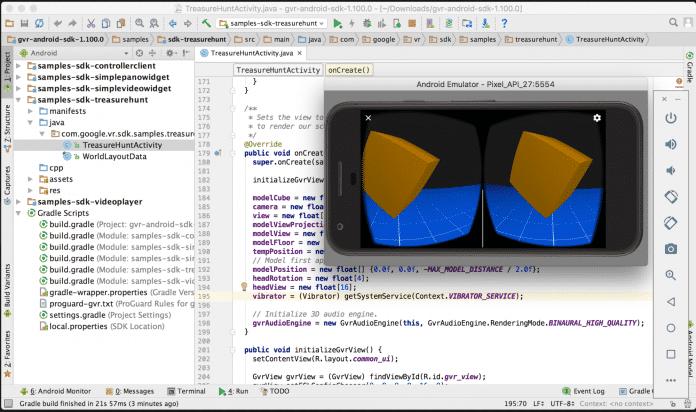 Einbindung des SDK für eine Daydream-Anwenung in Android Studio