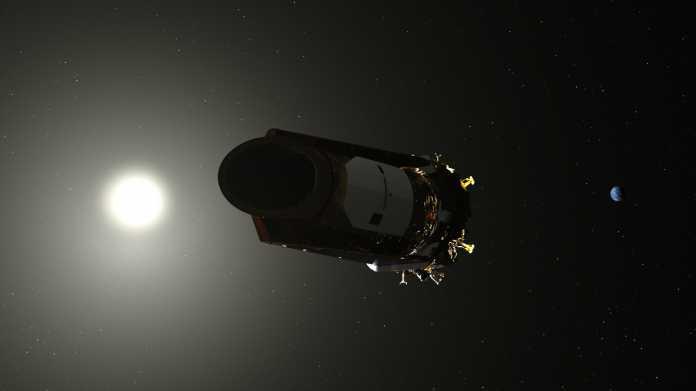 Tank fast leer: Weltraumteleskop Kepler hat wohl nur noch Monate