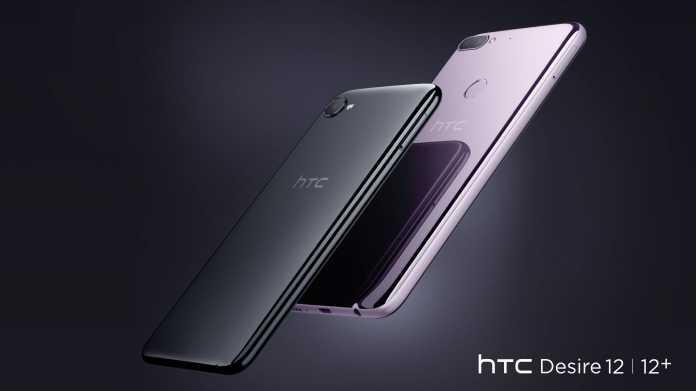 HTC Desire 12 und 12 Plus: Neue Einsteiger- und MIttelklasse-Smartphones kommen im April