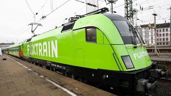 """Fernzug-Premiere für Flixbus – """"Flixtrain"""" soll jährlich 500.000 Reisende anlocken"""