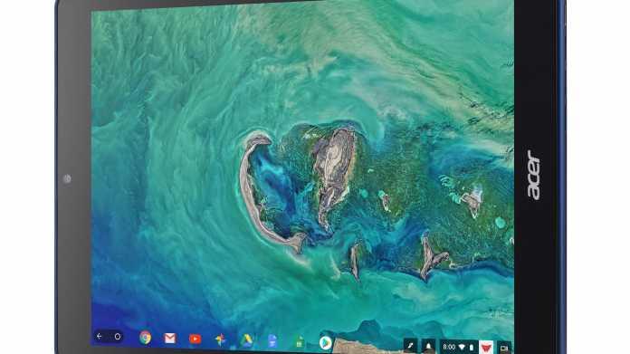 Chromebook Tab 10: Erstes Tablet mit Chrome OS