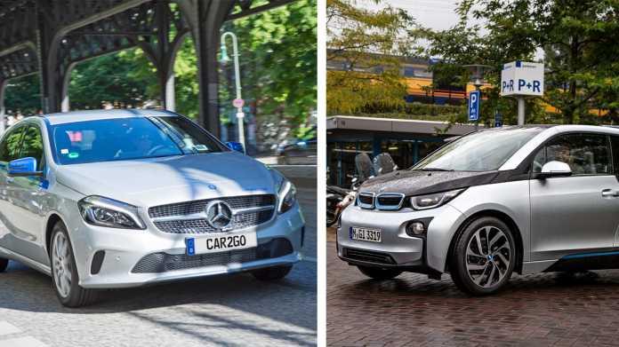 Car2Go und DriveNow: Daimler und BMW legen CarSharing und Mobilitätsdienste zusammen
