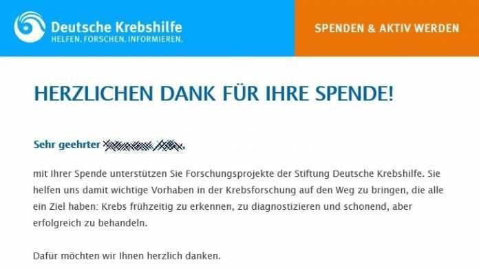 Onlineprotest gegen IT-Journalisten Brian Krebs führt zu Spendenwelle an Deutsche Krebshilfe