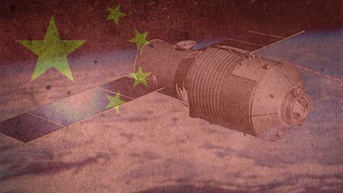 Chinesische Raumstation Tiangong 1 über dem Südpazifik verglüht