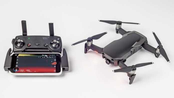 Test: Zusammenklappbarer Quadrokopter DJI Mavic Air mit 4K-Kamera