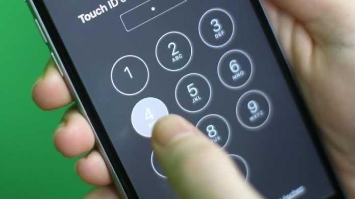 iPhone PIN