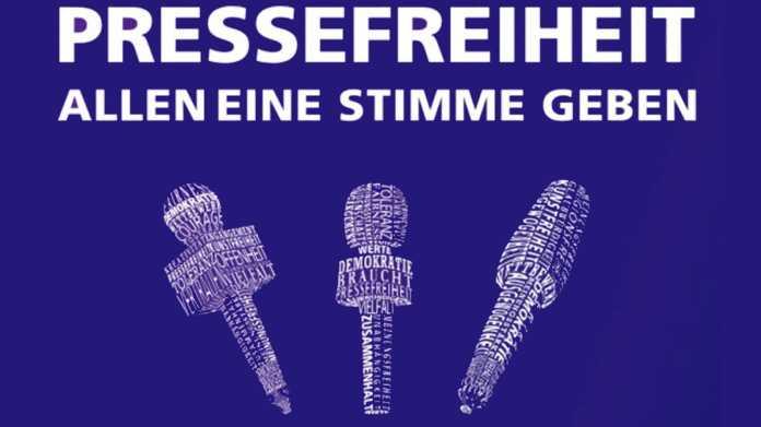 Aktion gegen schrumpfende Pressefreiheit: Vielfalt der Meinungen gefragt