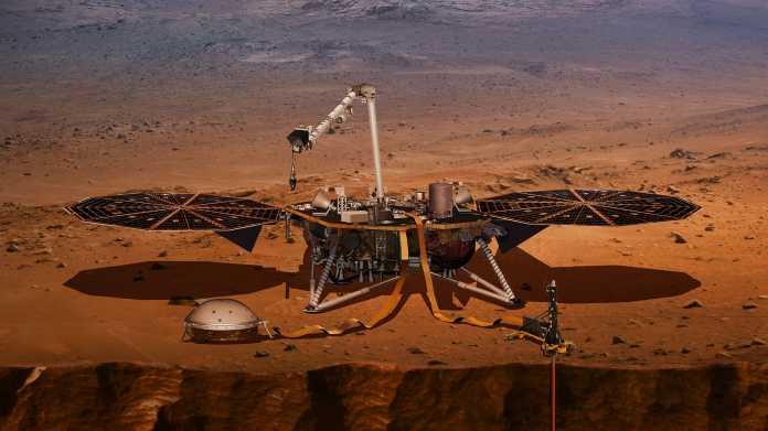InSight: Neuer Lander der NASA macht sich auf den Weg zum Mars