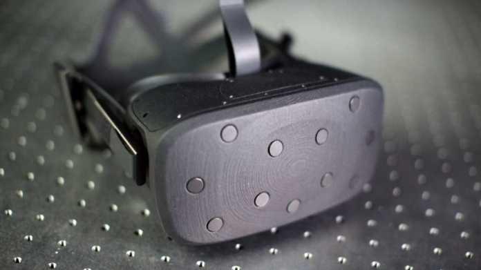 """VR-Headset: Oculus zeigt auf der f8 neuen Prototyp """"Half Dome"""""""
