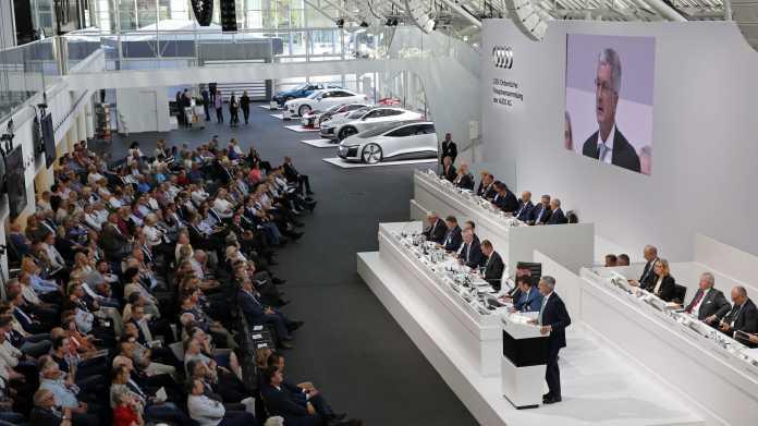 Abgas-Skandal: Audi-Chef Stadler räumt Fehler ein