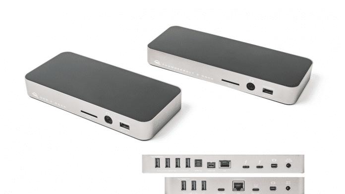 Test: OWC-Docks für Apple MacBooks mit USB-C oder Thunderbolt 3