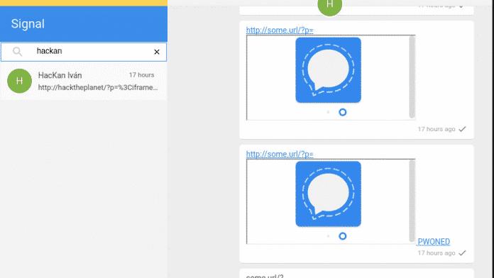 Updates fixen böses Loch in Signals Desktop-App